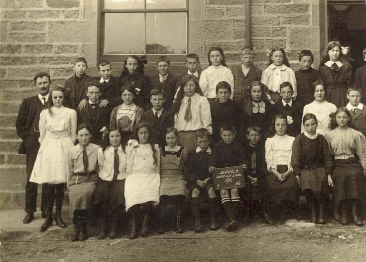 Dornoch Burgh school 1912