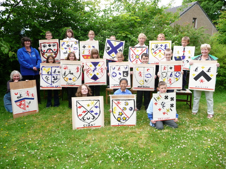 Dornoch Primary School Coat of Arms Project 2010