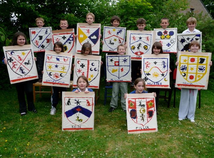 Dornoch Primary School Coat of Arms Project 2010