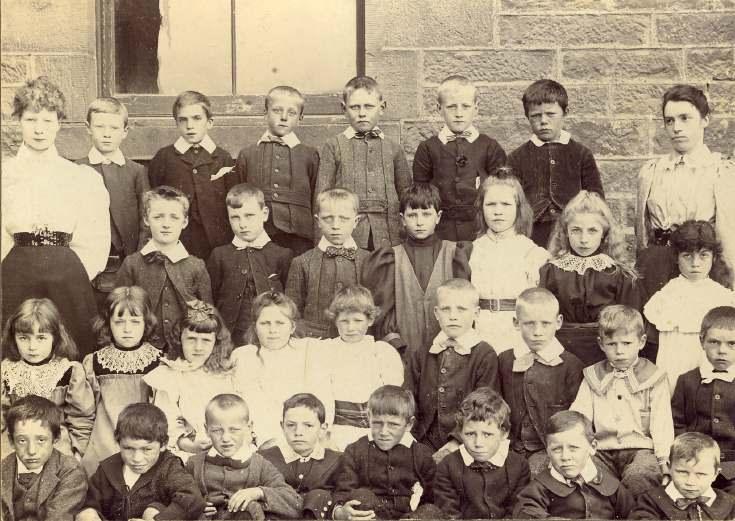 Pre-Academy class, Rearquhar School,  c. 1910