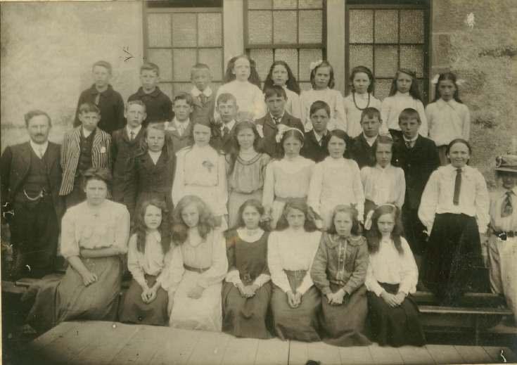 Mr Hourston's class, Dornoch Burgh School