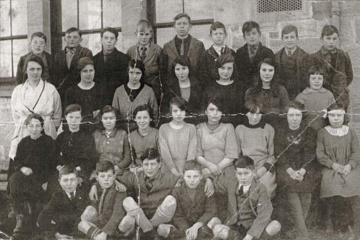Dornoch Academy class, 1923