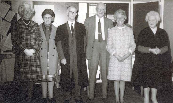 Teachers and wives, Dornoch Academy