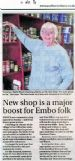 New shop is a major boost for Embo folk